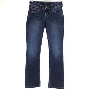 "Silver Jeans Suki 17"" Bootcut Jeans, ALTERED, 26"